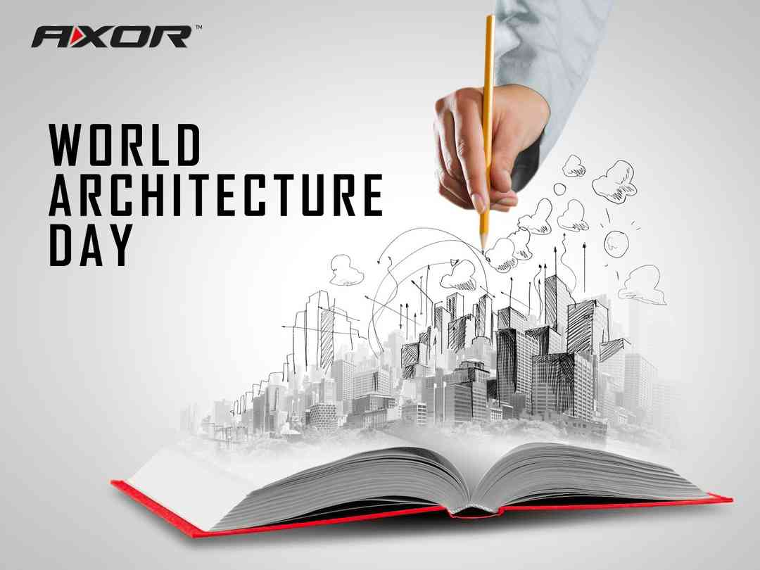 Congratulations with the Architect's Day
