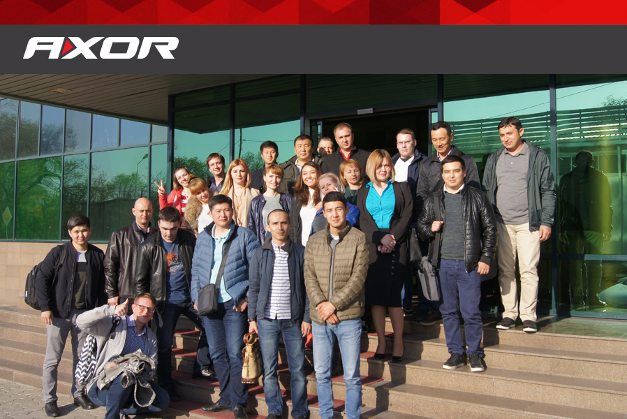 AXOR conducts a successful field training for window dealers in Kazakhstan
